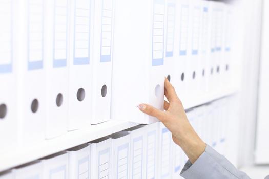 obsługa archiwum w siedzibie klienta, archiwizacja, porządkowanie, niszczenie