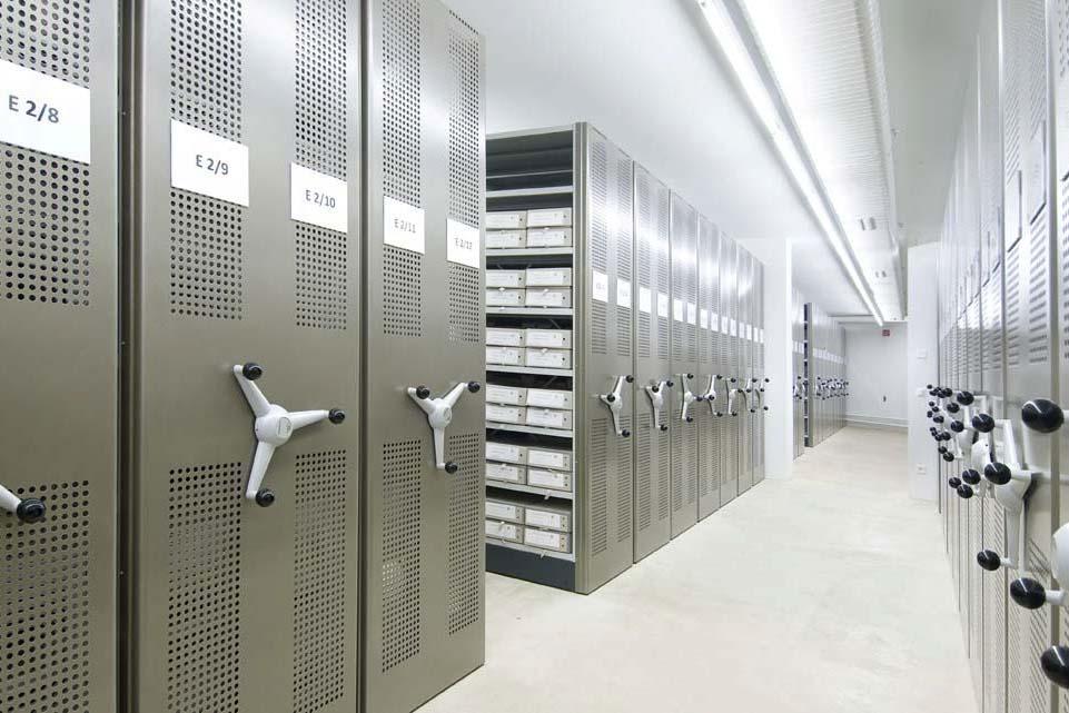 wyposażenie archiwum
